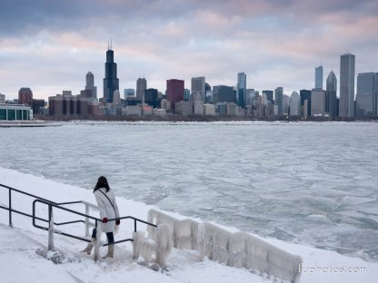 Chicago, IL winter