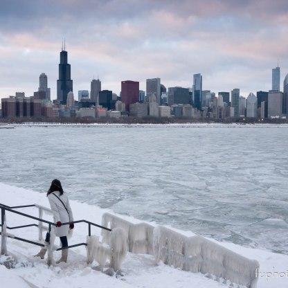 Chicago, IL winter