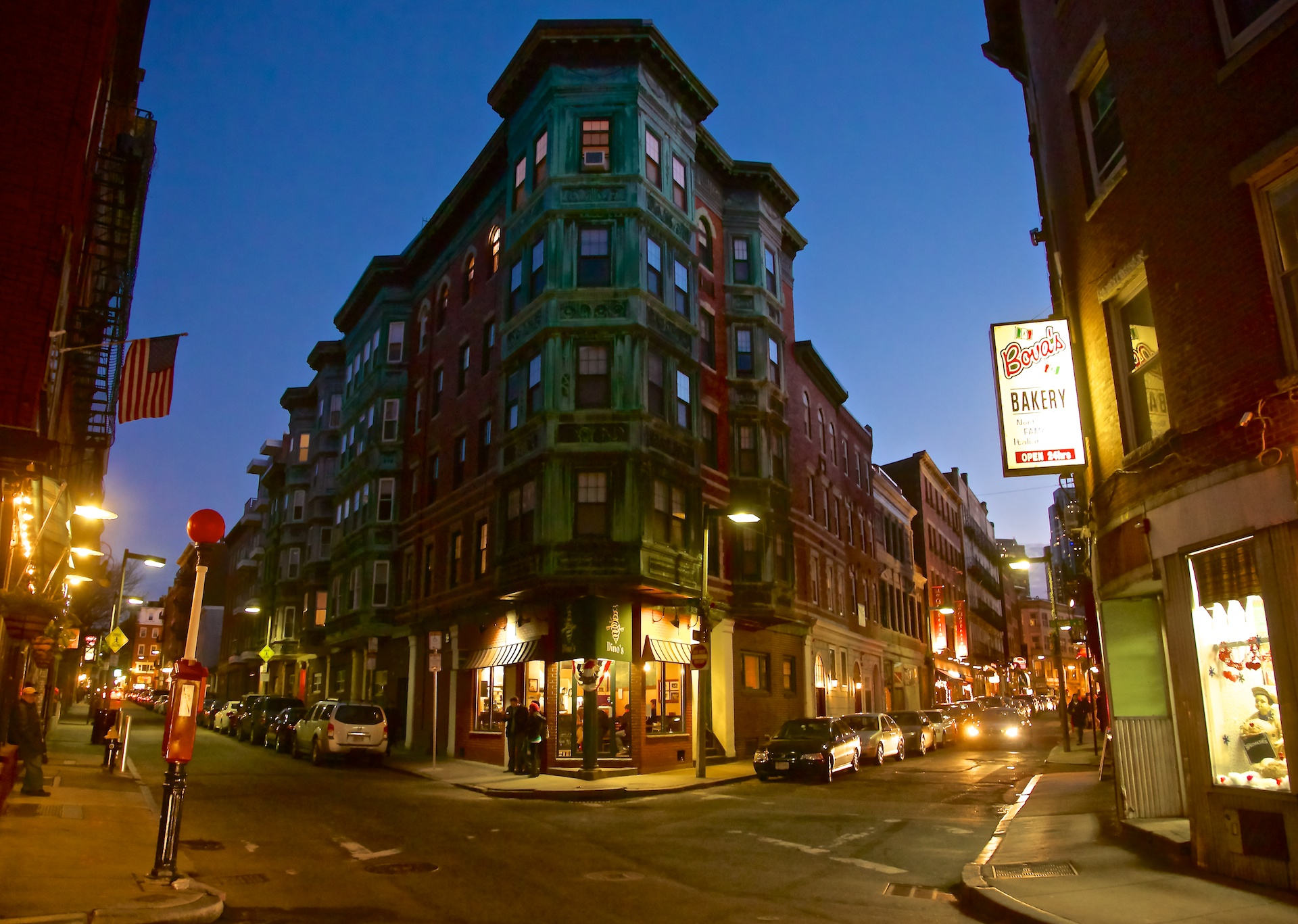 North-End-Architecture-at-Corner-of-Salem-and-Prince-Streets-at-Night-January-2013-Photo-by-Matt-Conti