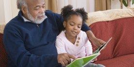 black-child-reading