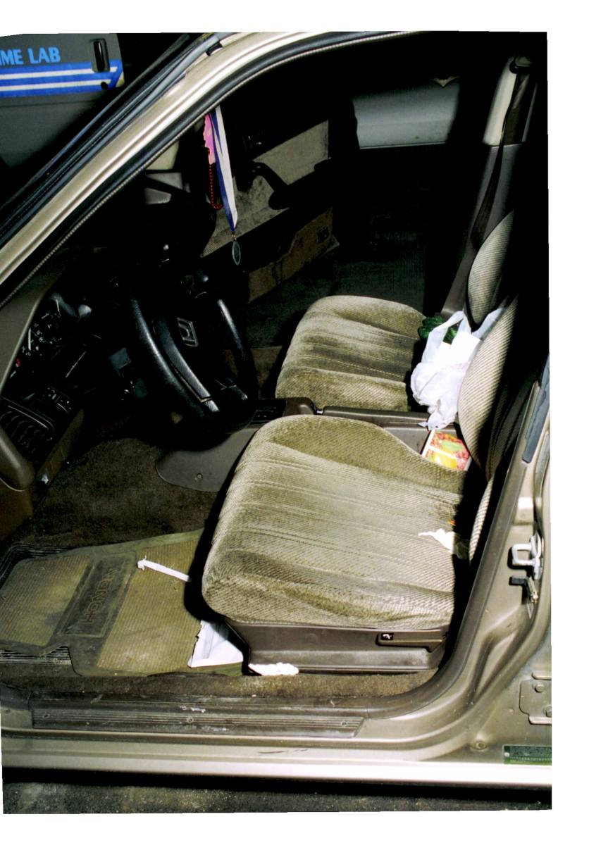 Adnan's Car, First Search, Interior, Front