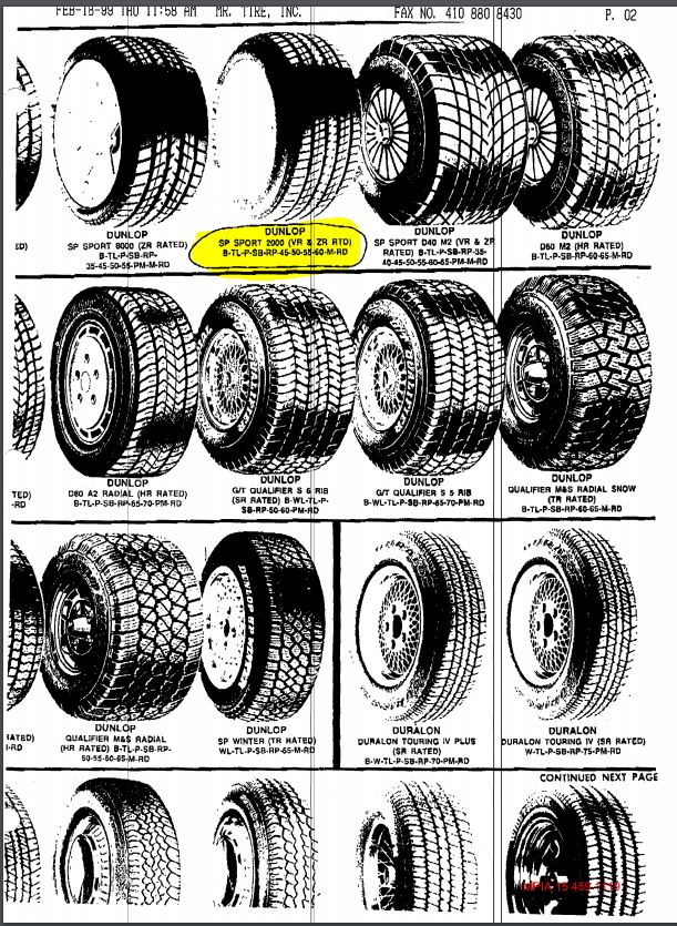 tire analysis 2