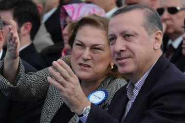 Guler Sabanci ve Erdogan