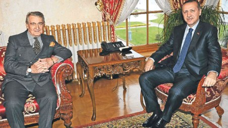 Rahmi Koc ve Erdogan